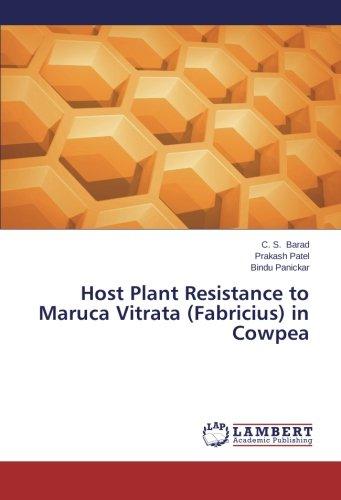 Host Plant Resistance to Maruca Vitrata (Fabricius) in Cowpea ebook