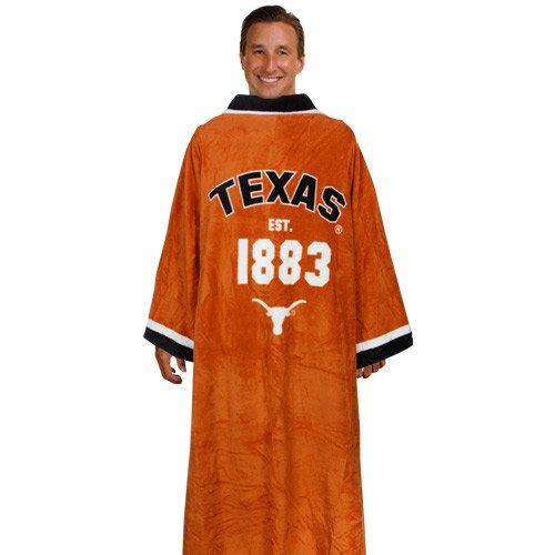 Texas Longhorns Unisex Burnt Orange Uniform Snuggie Blanket