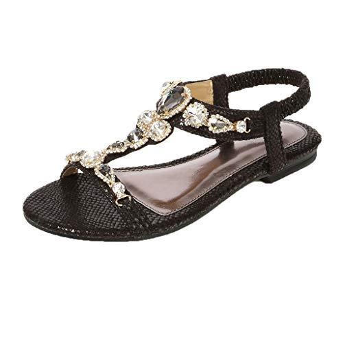 Lefthigh Thong Beach Shoes Ethnic Beaded Flat Shoes Snake Bohemian Women's Sandals Rhinestone