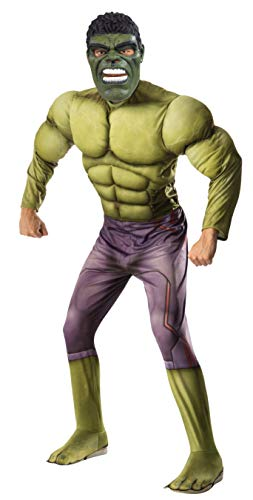 Rubie's Men's Avengers 2 Age Of Ultron Adult Deluxe Hulk Costume, Green, X-Large ()