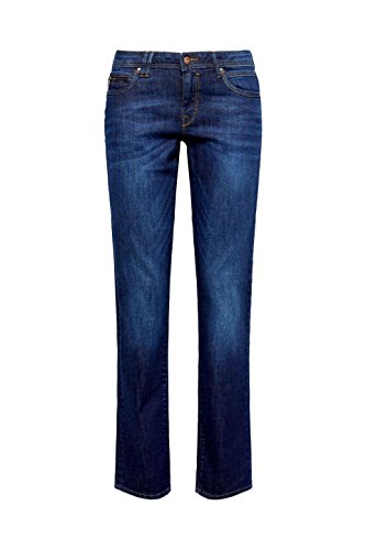 Wash Jeans Straight Blu blue Donna Edc 901 By Esprit Dark Hwagq8xS