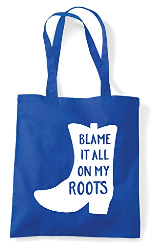 Boots Bag Statement Shopper Blame Blue Tote Royal Roots On Cowgirl Cowboy It My TnUxq1R