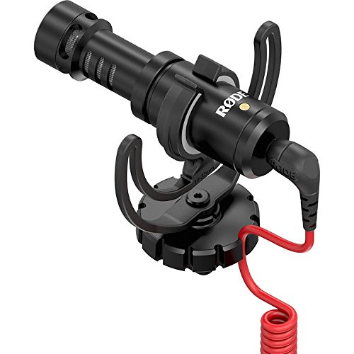 : Rode VideoMicro Compact On-Camera Microphone with Rycote Lyre Shock Mount