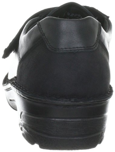 987 Berkemann mujer nobuck de 03492 Zapatos Adele Negro para cuero OTUpqZ