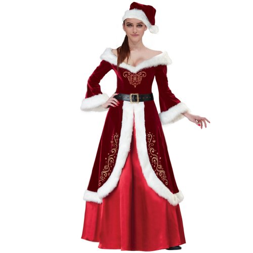 Mrs. St. Nick Adult Costume - X-Large