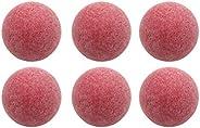 VORCOOL 6Pcs Official Footballs Classic Tornado Footballs Red Table Soccer Balls
