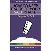 How to keep track of your salt intake: Easy as 1 - 2 - 3