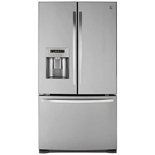 Price comparison product image Kenmore 73053 26.8 cu. ft. French Door Bottom Freezer Refrigerator in Stainless Steel,  includes delivery and hookup