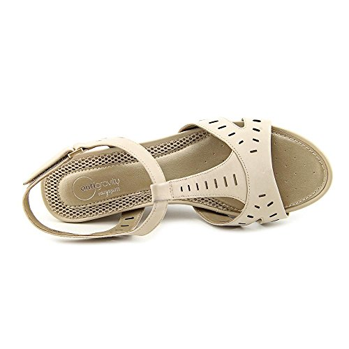 Strap T Lula Sandals Spirit Wedge Taupe Easy Women's wFq7I7