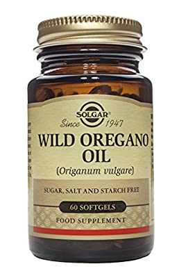 Solgar – Wild Oregano Oil, 60 Softgels