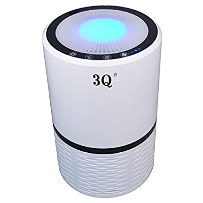 Brand New HEPA Air Purifier Ionic Fresh Air Cleaner Filter - 3 Speeds Plus Ionizer - Night Light - Remove Odors Allergies Mold & Bacteria, 200H