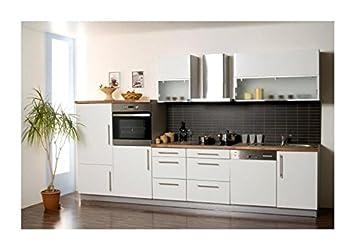 Küchenzeile design  Mebasa MCZL900BW Küche, Hochwertige Küchenzeile, Design ...