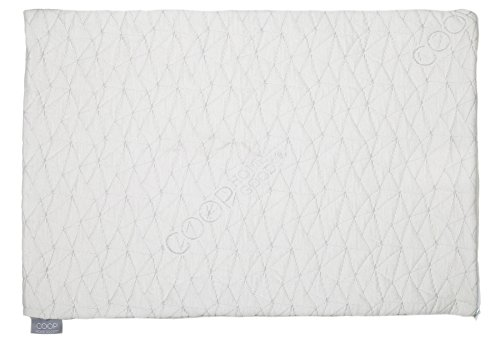 Coop Home Goods - Single QUEEN Removable Pillowcase - Bamboo Derived Viscose and Polyester Blend with Zipper Closure - Made in USA by Coop Home Goods (Image #4)