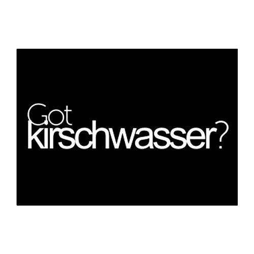 Kirschwasser Drinks (Idakoos Got Kirschwasser? - Drinks - Sticker Pack x4)