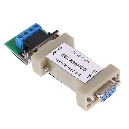 (Alloet 1pc Serial RS232 to RS485 Passive Port Data Communication Converter Adapter)