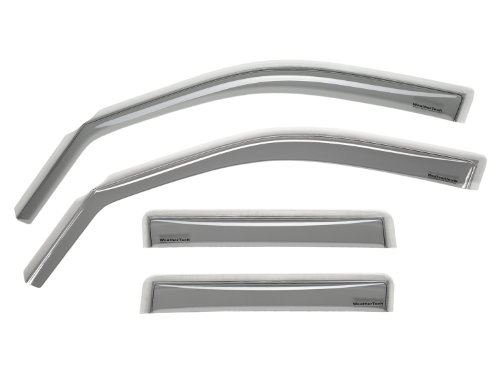 WeatherTech Custom Fit Front & Rear Side Window Deflectors for Jaguar X-Type, Light Smoke by WeatherTech