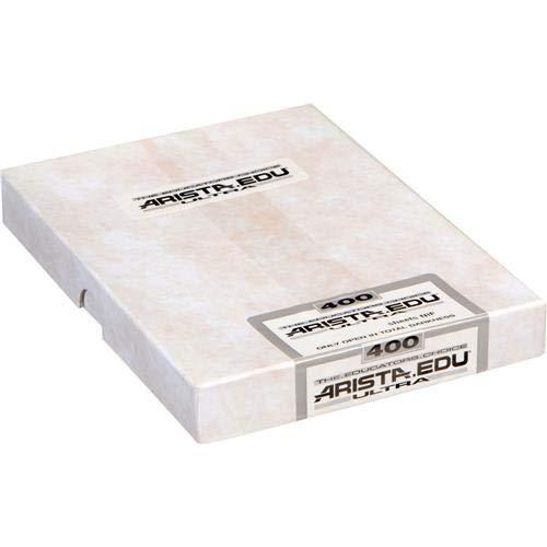 Arista EDU Ultra 400 ISO Black & White Film, 4x5, 50 Sheets by Arista II