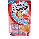 Delectables Squeeze Up Interactive Wet Cat Treats - Tuna & Shrimp - 32 Count