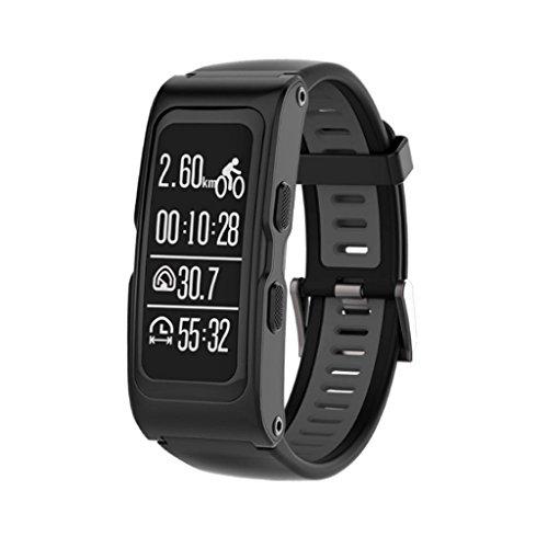 025 KTYX Fashion Intelligent Sports Bracelet Altitude Measuring Instrument Smart Watch (Color : Black)