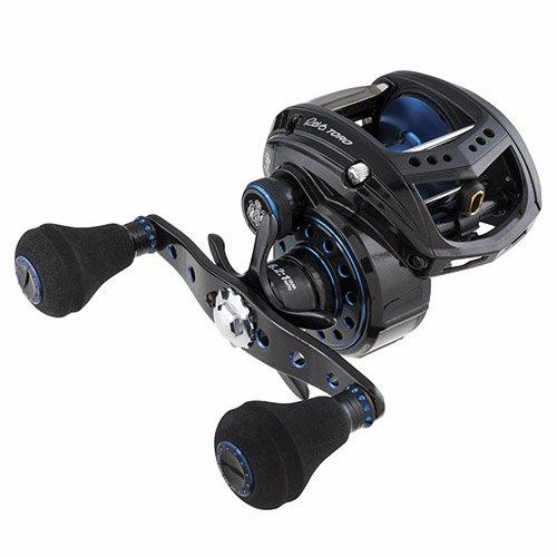 Abu Garcia REVO T2 BST60-HS Revo Toro Beast Low-Profile Baitcast Fishing Reel, 60 - Right-Handed, Blue,Black
