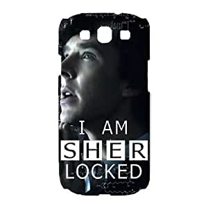 SamSung Galaxy S3 9300 phone cases White Sherlock cell phone cases Beautiful gifts LAYS9820623