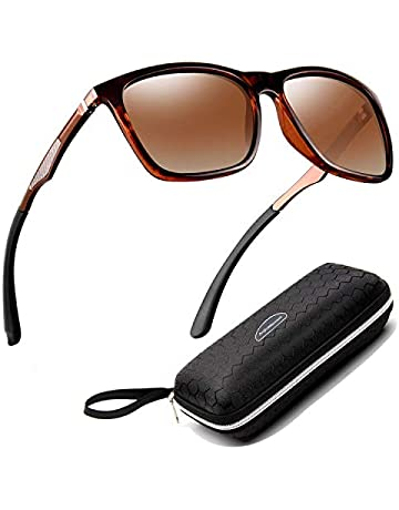 b473bef54c7c Perfectmiaoxuan Gafas de sol para hombre mujer polarizadas Ciclismo El golf  Conducción Pescar Alpinismo Gafas