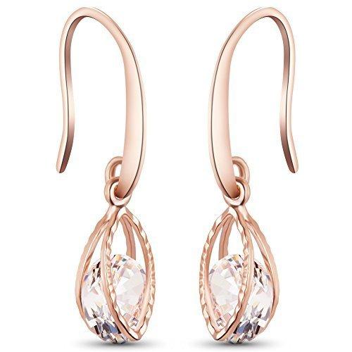 recherche d'officiel site officiel utilisation durable Boucles d'oreilles plaque or rose SWEETIEE - Promos en or