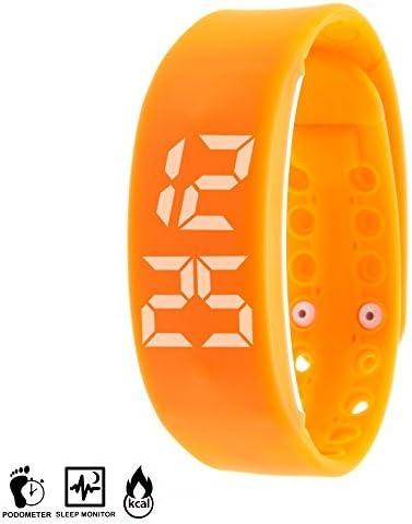 DAM - Brazalete Fit W2 Pc Control Naranja: Amazon.es: Electrónica