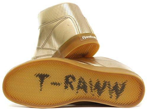 Reebok Classic T Raww Mens Guld Sneakers
