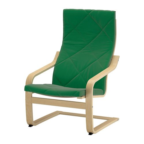 Amazon.com: IKEA cojín de silla, Sandbacka Verde (sólo Cojín ...