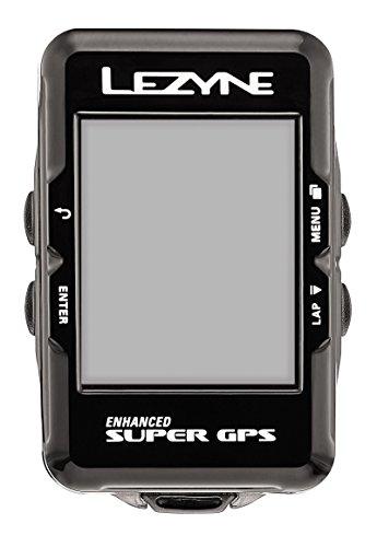 Lezyne Super GPS, Black, One Size by Lezyne
