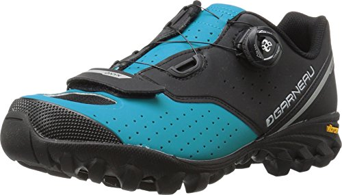 Louis Garneau 2017/18 Men's Onyx Mountain Bike Shoes - 1487263-371 (SAPPHIRE/BLACK - 43)
