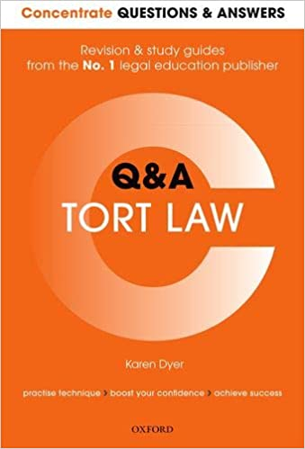 tort law simple questions and answers