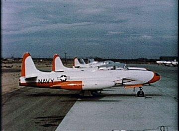 T-33 Shooting Star and T2V-1 Seastar Aircraft Familiarization