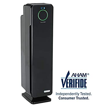GermGuardian CDAP5500BCA 28 4-in-1 WiFi Smart Air Purifier, Air Quality Monitor, Voice Control, HEPA Filter, UVC Sanitizer, Traps Allergens, Smoke, Odors, Mold, Dust,Germs, 5Yr Warranty Germ Guardian