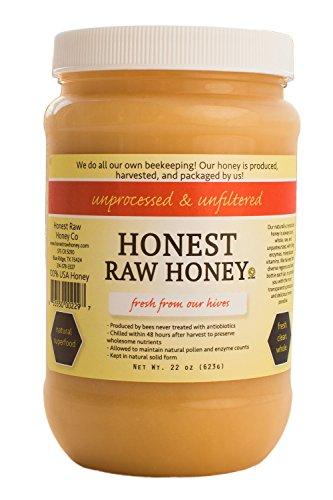 Desert Honey - Honest Raw Honey, Pure Natural American Honey, 22 Ounce