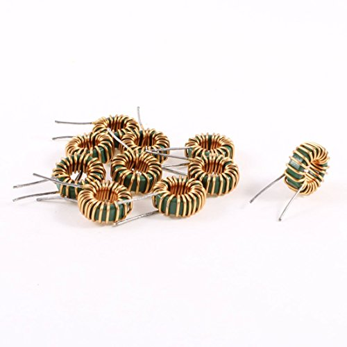 Uxcell a13071500ux0189 10 Piece Toroid Core Inductor Wire Wind Wound