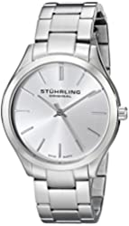 Stuhrling Original Unisex 884.01 Classic Gentry Stainless Steel Watch