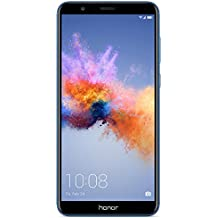 "Honor 7X GSM Unlocked Smartphone 5.93"" FullView Display, 16MP + 2MP Dual-Lens Camera, Dual SIM, Expandable Storage, Blue (US Warranty)"