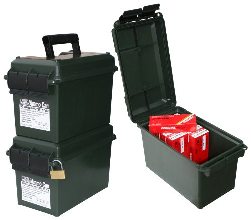 MTM Forest Green 50 Caliber Ammo Storage Can, Outdoor Stuffs