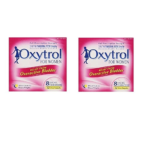 Oxytrol ®For Women ( 8 Patches = 32-Day Supply) (Pack of 2)