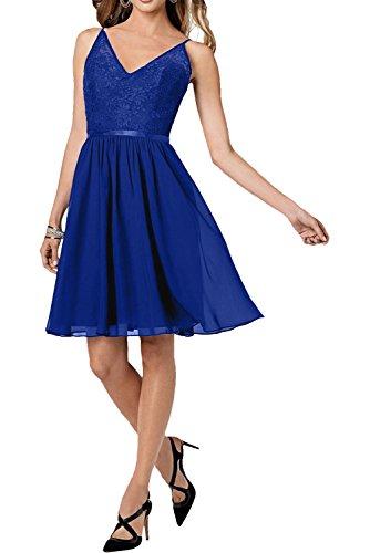 Heimkehr Traube Braut Mini Dunkel Abendkleider Blau Glamour Tanzenkleider Royal La Marie Cocktailkleider Spitze BWqfwFZH