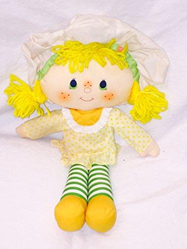 Lemon Meringue Soft Rag Doll 1981 American Greetings (Strawberry Shortcake Soft Doll)
