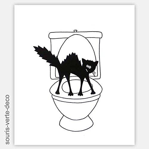 Placa decorativa para puertas de servicio, erizado gato,cartel de madera, placas y senales decorativas,gracioso, divertido,pintado a mano