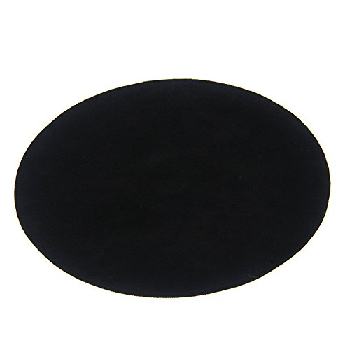 repair-patches-4-pcs-elbow-knee-velvet-iron-on-patches-round-black-by-beaulegan