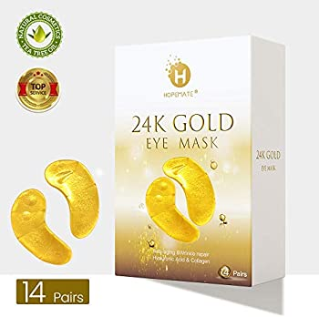Hopemate 24K Gold Eye Treatment Mask