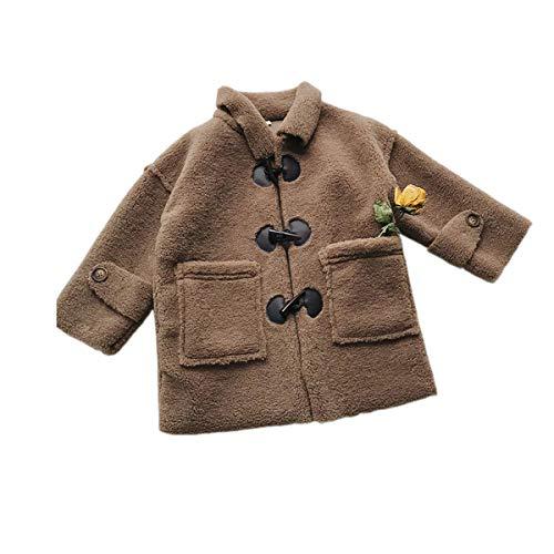 4a3796ac32524 Mum nny ベビーダッフルコート アウター ムートン風ジャケット もこもこ 子供服 防寒対策 秋冬物 韓国