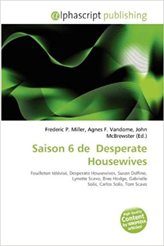 Livre en pdf gratuit Saison 6 de Desperate Housewives