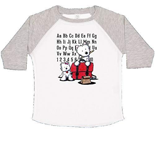 inktastic Teachers Pet Westies Toddler T-Shirt 2T White and Heather - KiniArt
