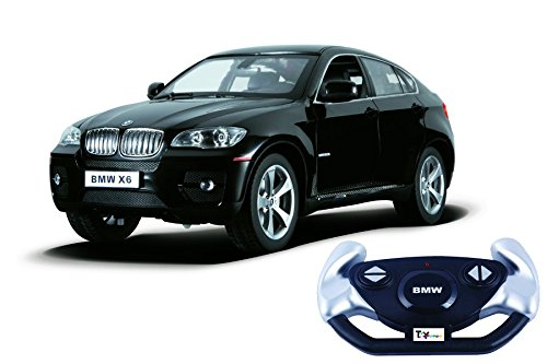 Toyhouse Officially Licensed BMW X6 1:14 Scale Model Car, Black